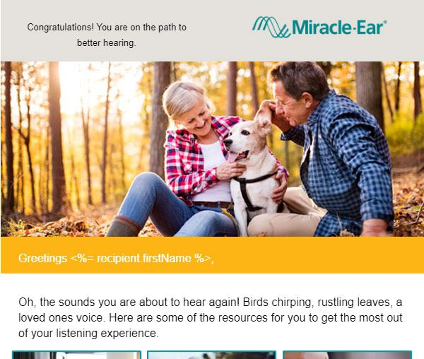 Miracle Ear Email